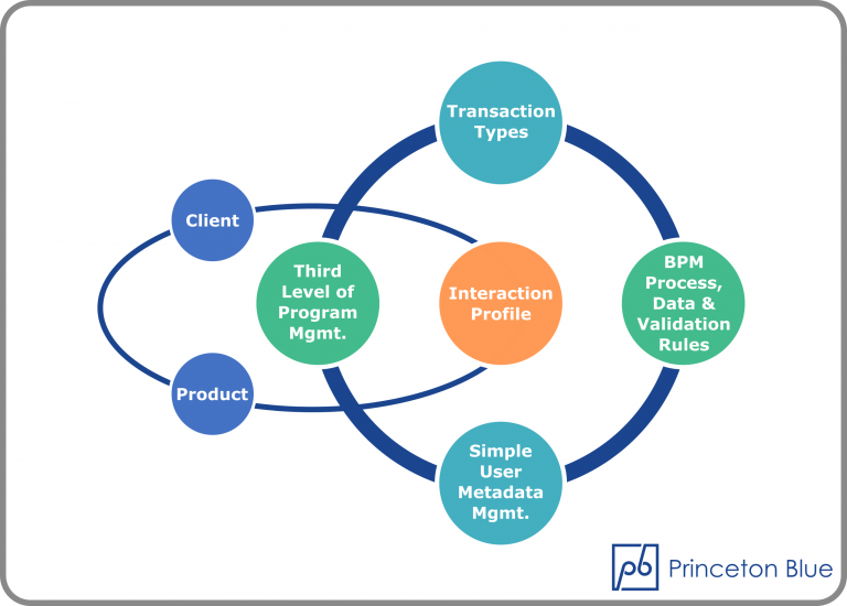 Interaction Profiling Infographic | Princeton Blue