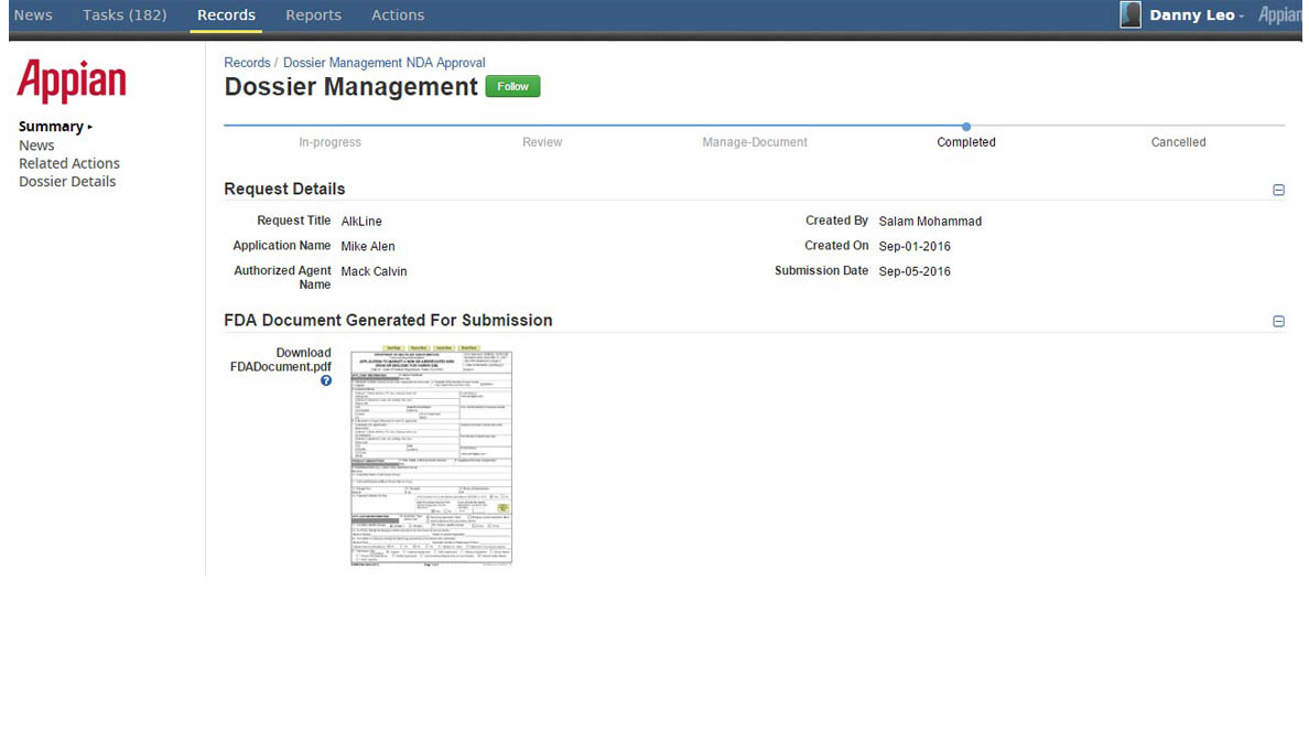 Dossier-Mgmt-Download